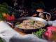 Koteletter i fad med ris